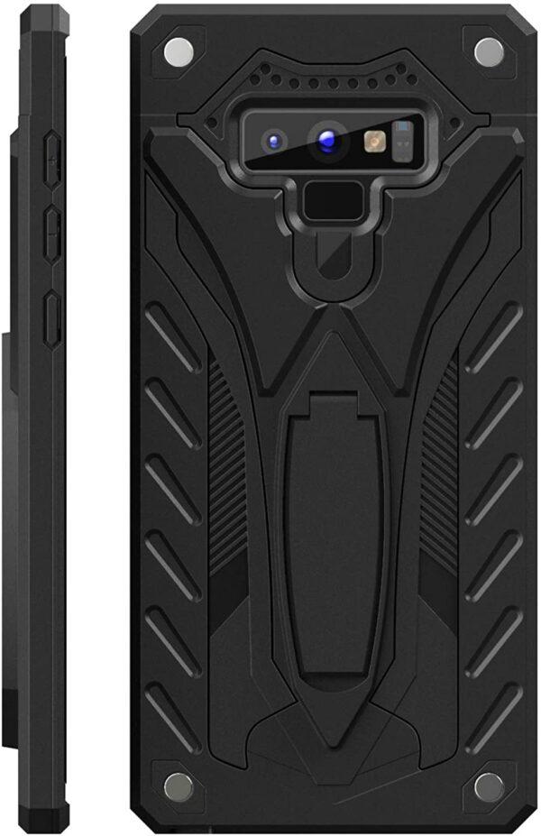 Kitoo Samsung Galaxy Note 9 Case with Kickstand, Black