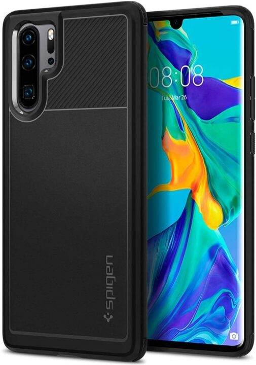 Latest Spigen Rugged Armor Huawei P30 Pro Case