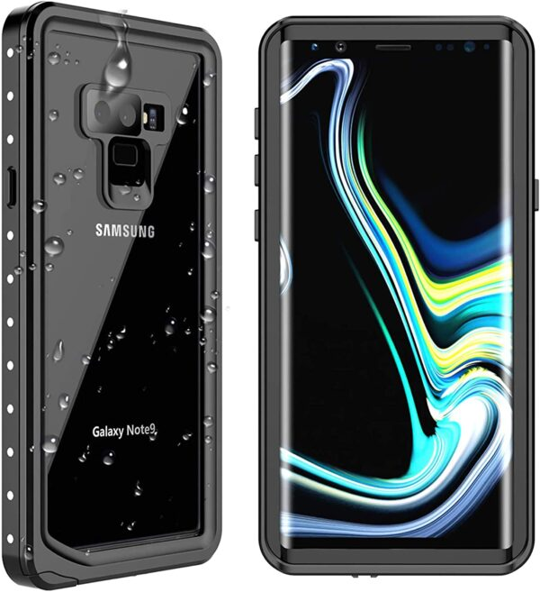 SPIDERCASE Samsung Galaxy Note 9 Waterproof Case