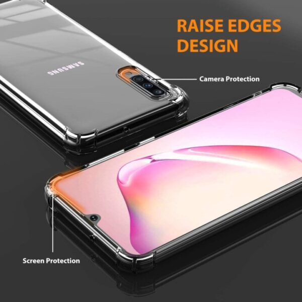 iCaber Samsung Galaxy A70 Clear Case With Precise Cutouts
