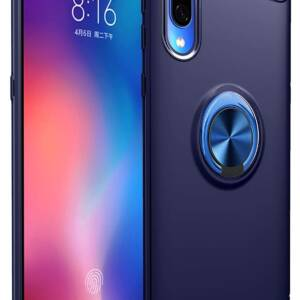 Latest iCoverCase for Xiaomi Mi 9 case with Invisible Metal Ring Bracket