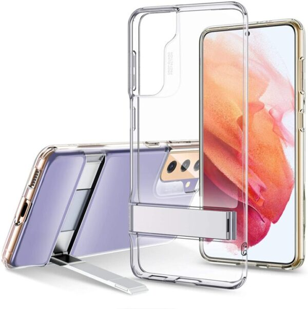 Latest ESR Clear Case for Samsung S21 With KickStand