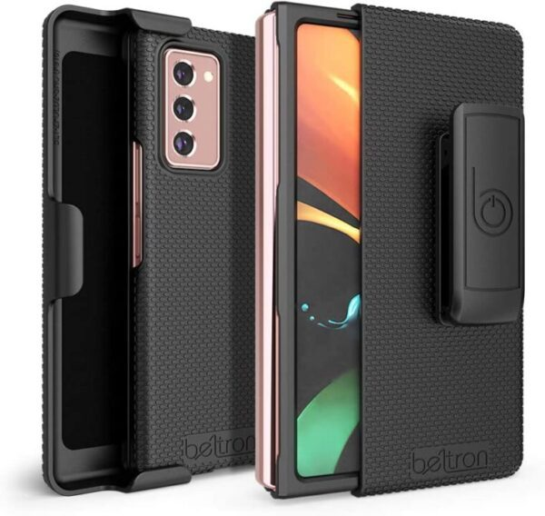 Reliable BELTRON Protective Case with Kickstand for Samsung Galaxy Z Fold 2 5G