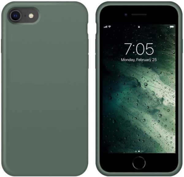 New Ouxul Liquid Silicone Case For Iphone 7/8
