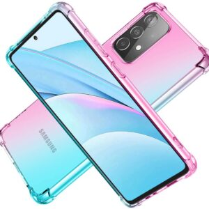 New HNHYGETE Clear Case for Samsung Galaxy A72