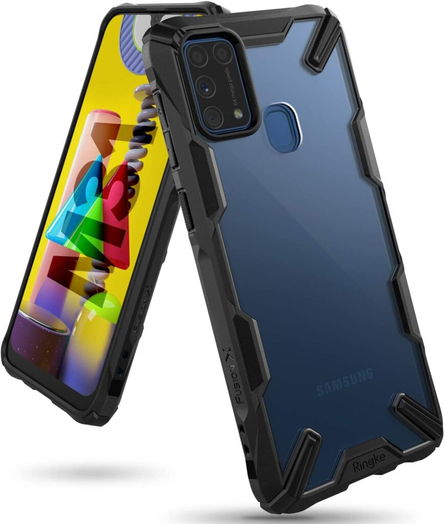 Ultimate Ringke Fusion X Rugged Case for Samsung Galaxy M31