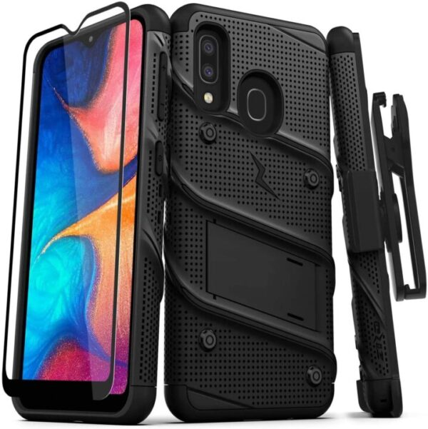 ZIZO Bolt Galaxy A20 Case with Kickstand