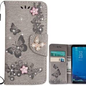 New LAPOPNUT Leather Wallet Case with Card Holder for Samsung Galaxy A21S