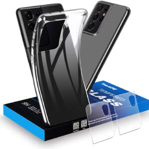 New Topace Transparent Protective Case for Samsung Galaxy S21 Ultra
