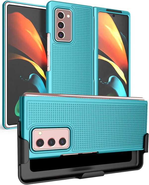 New NakedCellphone Protective Case with Clip for Samsung Galaxy Z Fold 2 5G