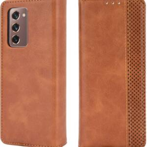 Latest Miimall Wallet Leather Case for Samsung Galaxy Z Fold 2 5G
