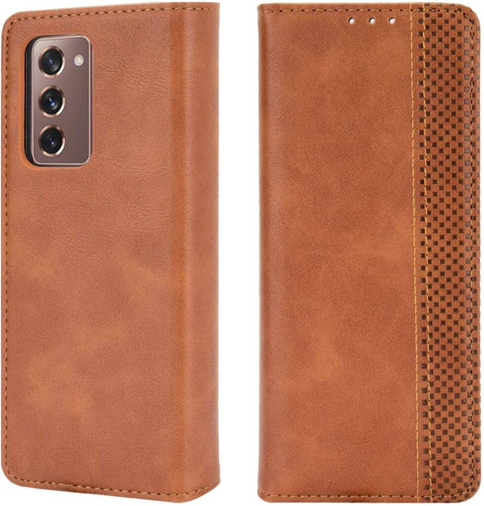 Latest Miimall Wallet Leather Case for Samsung Galaxy Z Fold2 5G