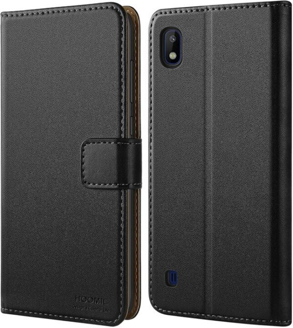 New HOOMIL Leather Wallet Case for Samsung Galaxy A10