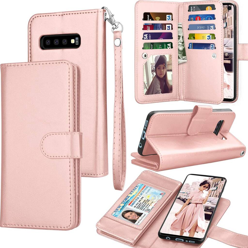 Latest Samsung Galaxy S10e Card Case By Tekcoo