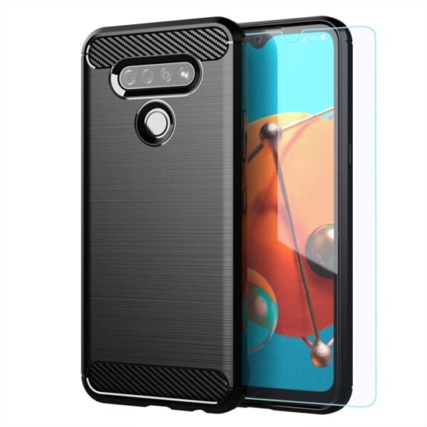 New Affordable Case For LG K51 with HD Screen Protector From MAIKEZI
