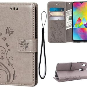 Teebo Leather Wallet Case for Samsung Galaxy M30