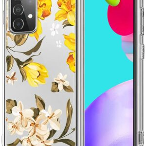 New Tharlet Yellow Flower Protective Case for Galaxy A52 5G