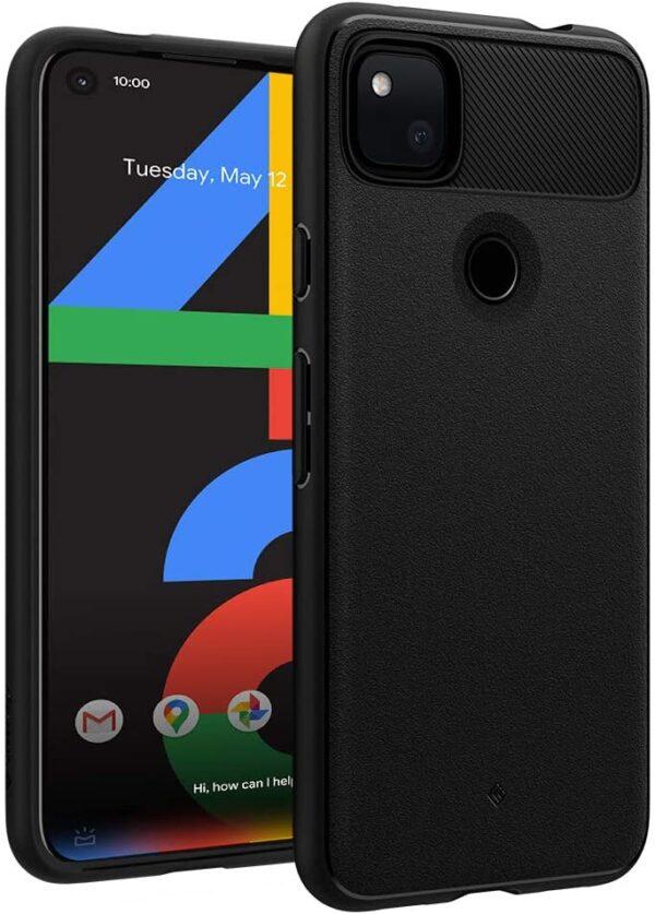 Caseology Vault for Google Pixel 4a Case (2020) [NOT Compatible with Pixel 4a 5G] - Matte Black