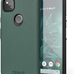 Crave Pixel 4a Case - Dual Guard Protection Series Case for Google Pixel 4a