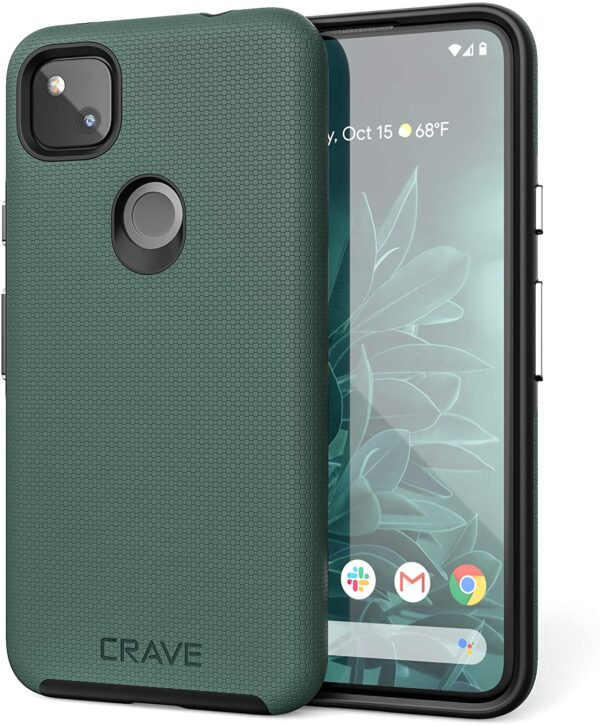 Crave Pixel 4a Case - Dual Guard Protection Series Case for Google Pixel 4a