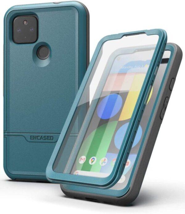 Encased RebelShield Designed for Google Pixel 4a 5G Case with Screen Protector