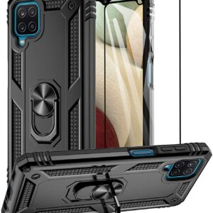 Aliruke Samsung A12 phone Case and Screen Protector For Full Body Protection