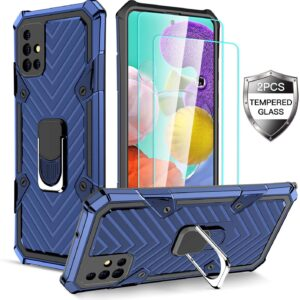 Amytor Samsung A51 5G Case With Belt Clip and Screen Protector