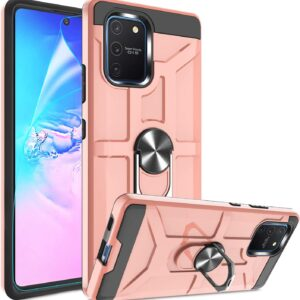 Atump Military-Grade Samsung Galaxy A81 Case With 360 Kickstand