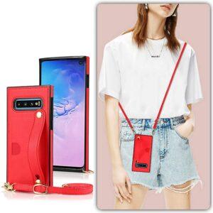 Best Crossbody Phone Case Samsung S10 by DEFBSC