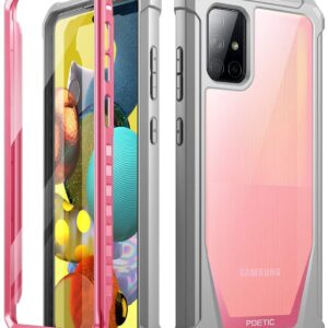 Full Body Poetic Guardian Series Samsung Galaxy A51 5G Case with Built-in-Screen Protector