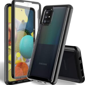 HATOSHI Phone Case For Samsung Galaxy A51 5G with Built in Screen Protector