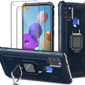 PULEN Case For Samsung Galaxy A21s With 2 Screen Protector