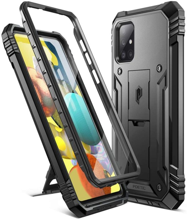 High Quality Poetic Revolution Series Samsung Galaxy A51 5G case With Screen Protector