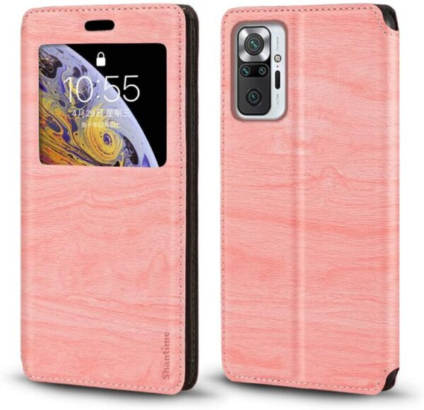Shantime Redmi Note 10 Pro Case Cover – Perfect Leather Case For You