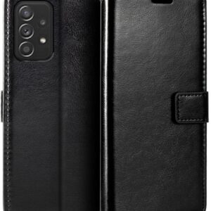 Classic Full-Body Samsung Galaxy F52 5G Wallet Case with Card Holder