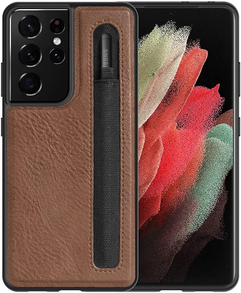 Best Samsung S21 Ultra Case with S Pen Holder For UK, Australia & US Users