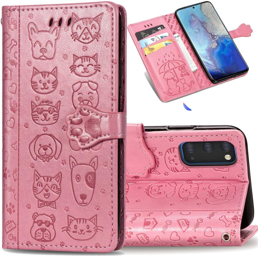 Protective Samsung F41 Back Cover for ladies – Perfectly For Cat and Dogs Lover
