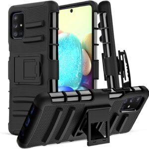 Pulen Samsung Galaxy A71 5G Case With Belt Clip - High-Performance Case