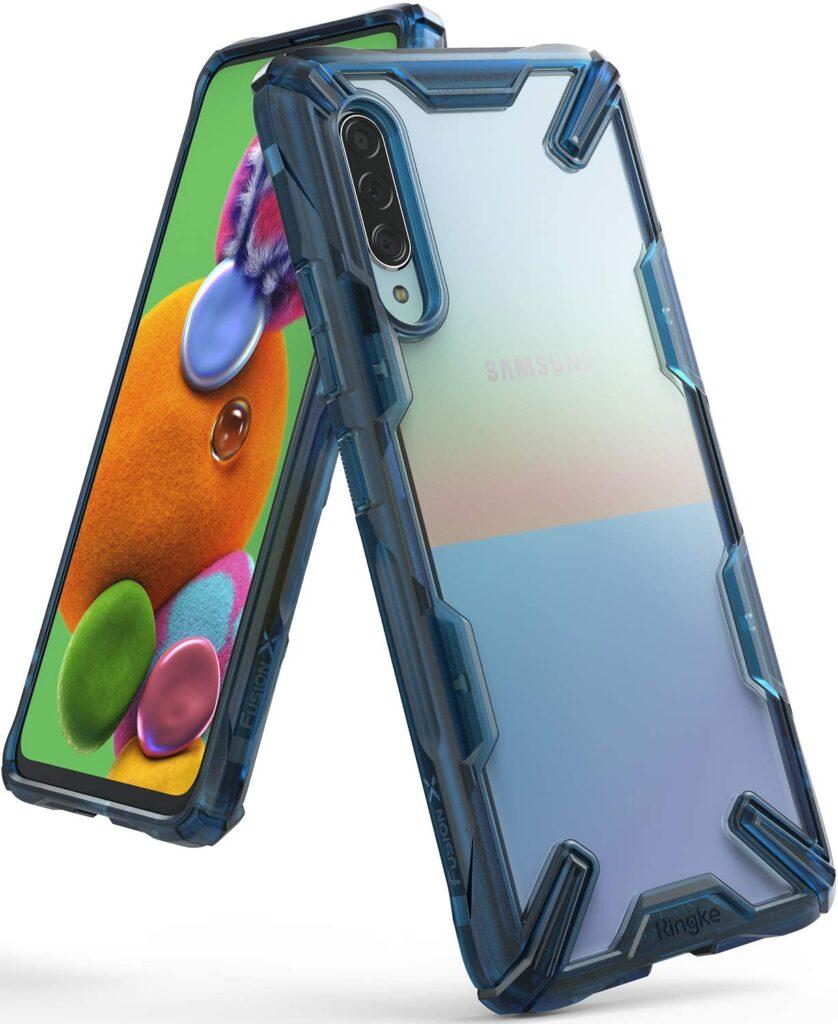 Ringke Fusion-X Case For Samsung Galaxy A90 5G - Clear Back Heavy Duty Case