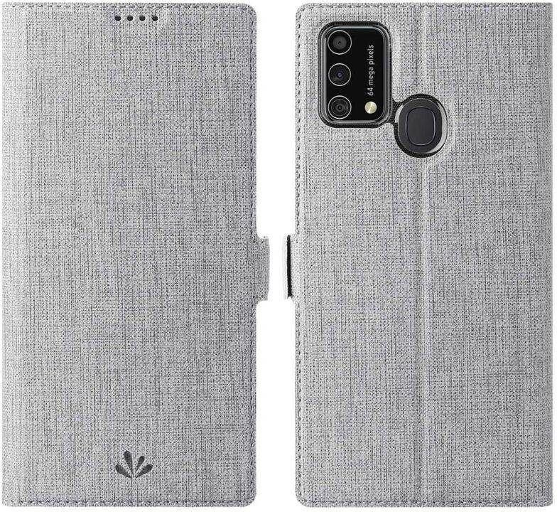 Foluu Samsung F41 Flip Cover With Magnetic Closure