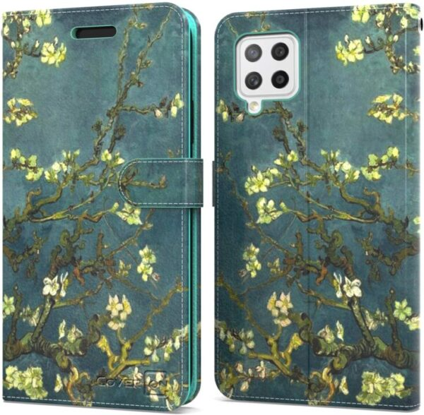 CoverON Wallet for Samsung A42 5G Case – TPU Rubber Case