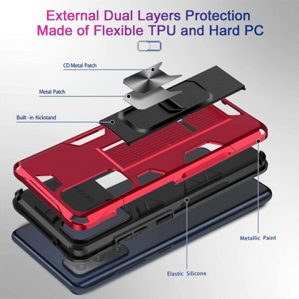 LeYi Samsung Galaxy S20 FE 5G Case With Built-In Screen Protector