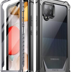Poetic Guardian Samsung Galaxy A42 5G Case And Screen Protector With Fingerprint ID