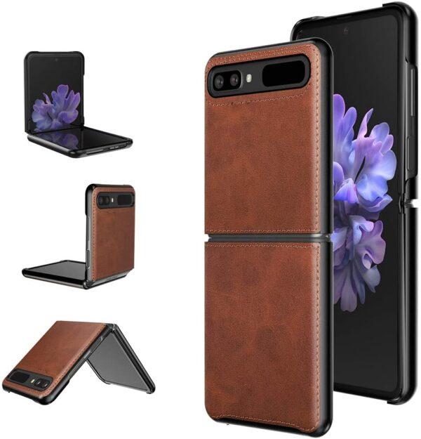 Samsung Galaxy Z Flip 5G leather case